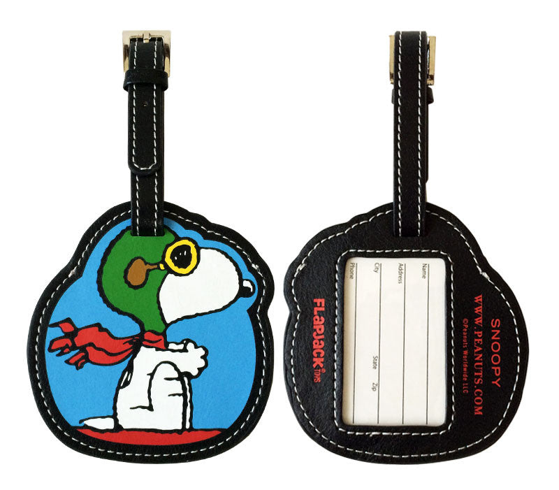Flying Ace Snoopy Luggage Tag