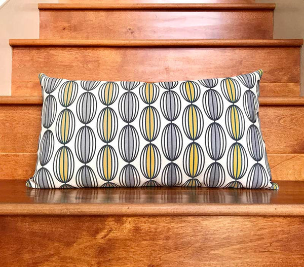 Flapjack Home Nelly Lumbar Throw Pillow - Curry