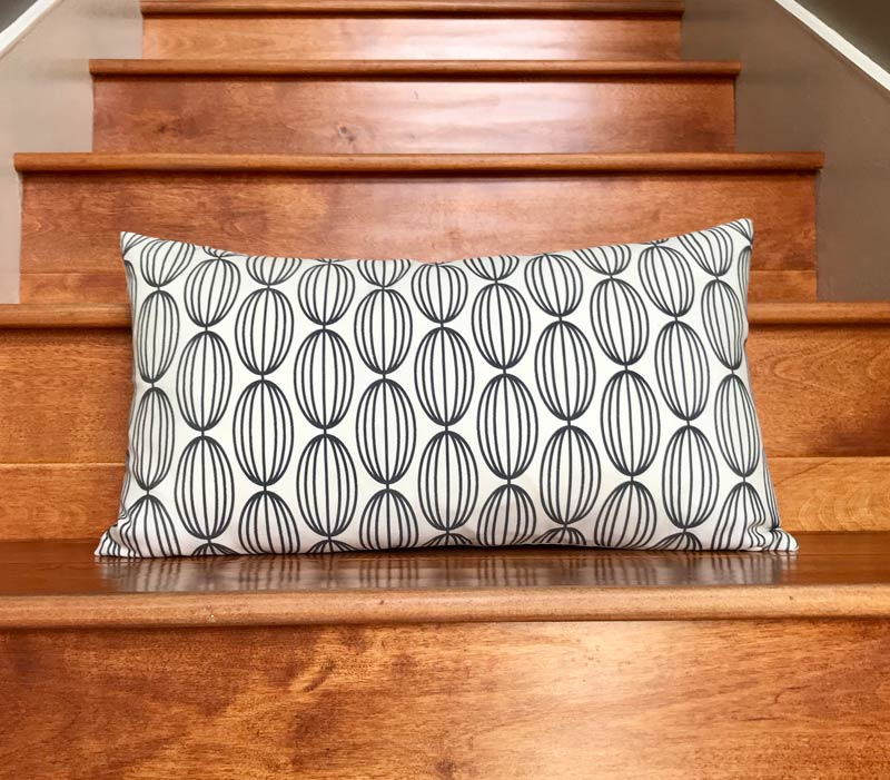 Flapjack Home Nelly Lumbar Throw Pillow - Natural