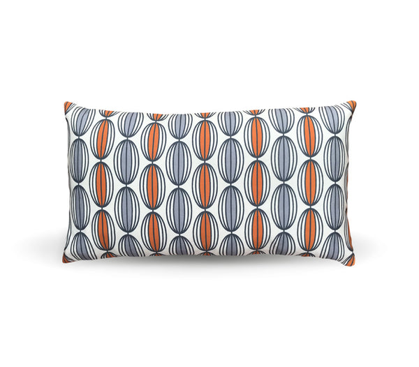 Flapjack Home Nelly Lumbar Throw Pillow - Spice