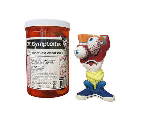 Shortness of Breath Symptoms Vinyl Figure | Flapjack Toys