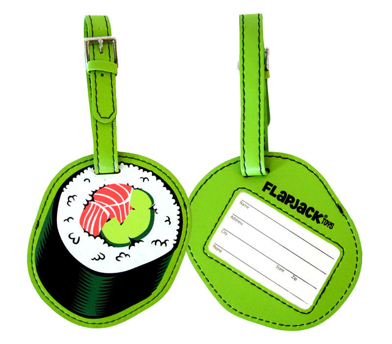 Sushi Luggage Tag