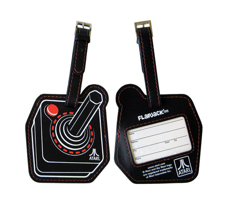 Atari Joystick Luggage Tag