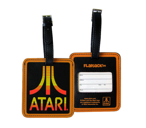 Atari Logo Luggage Tag