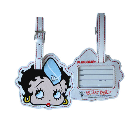 Flight Attendant Betty Boop Luggage Tag