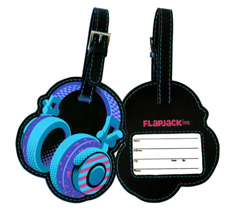 Headphones Luggage Tag