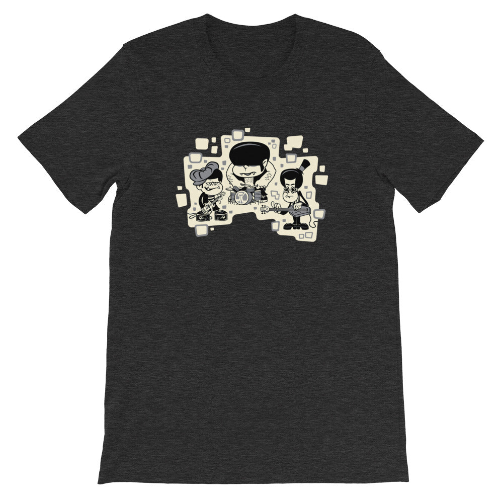 Flapjack Toys The Spookys Funk T-Shirt - Dark Grey Heather
