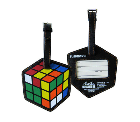 Rubik's Cube Luggage Tag