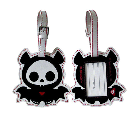 Skelanimals Bat Luggage Tag