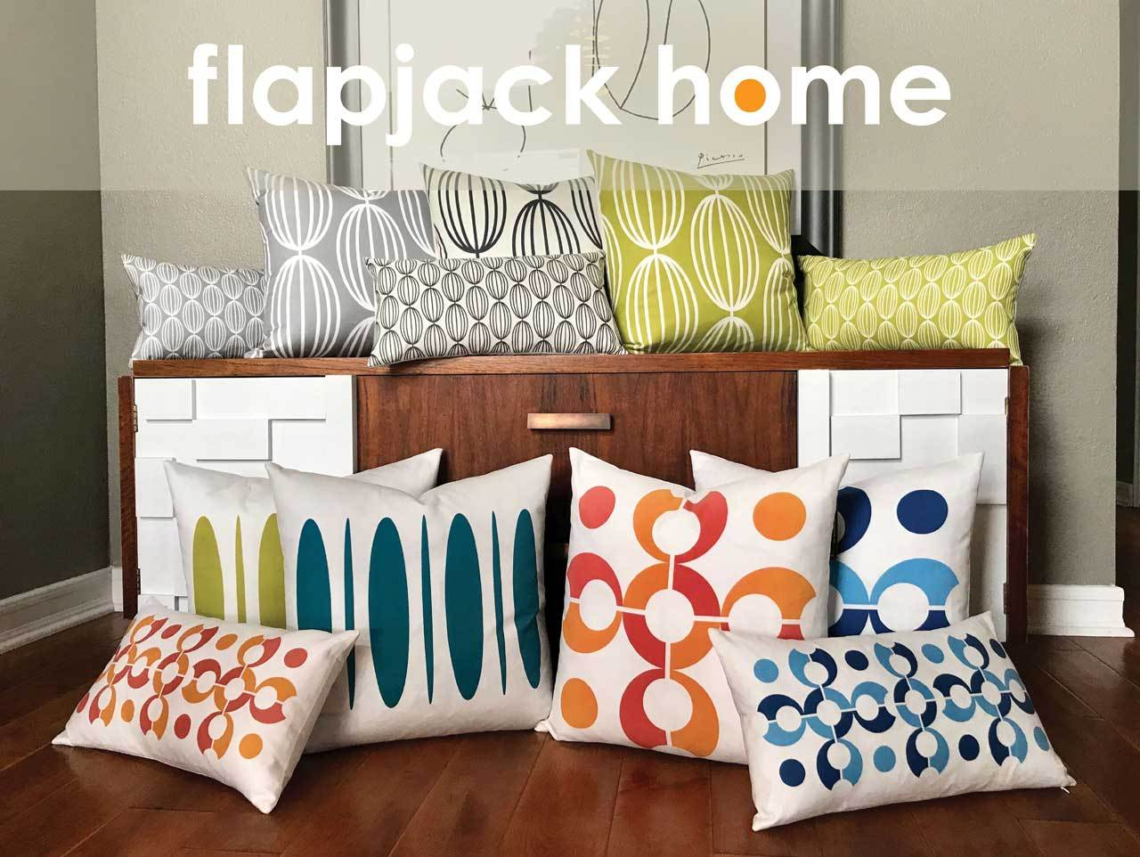 Flapjack Home Decorative Throw Pillows