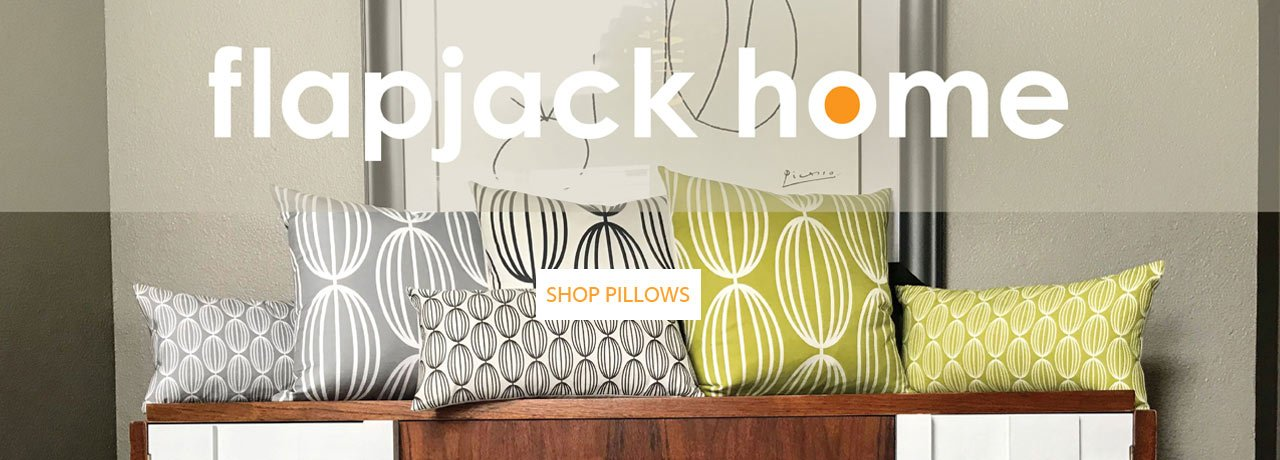 Flapjack Home Pillows