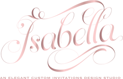 Isabella Invitations