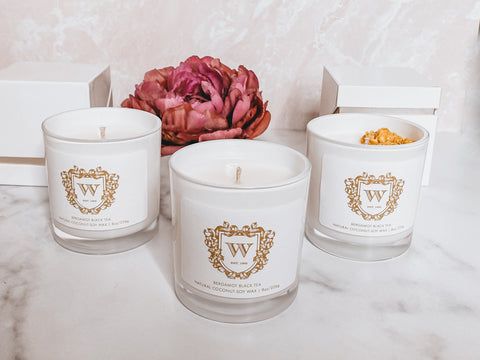 wholesale candles, private labels, luxury candles, soy candles, candles