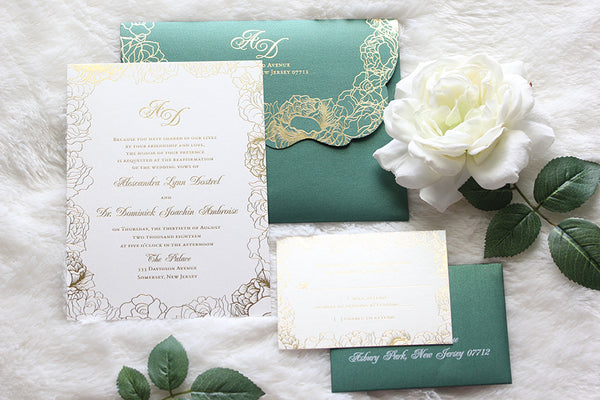 """ALEX"" Flatcard Invitation"