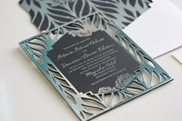 """ARTAVIA"" Lasercut Invitation"