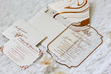 DANIELLE Clear Acrylic Invitation
