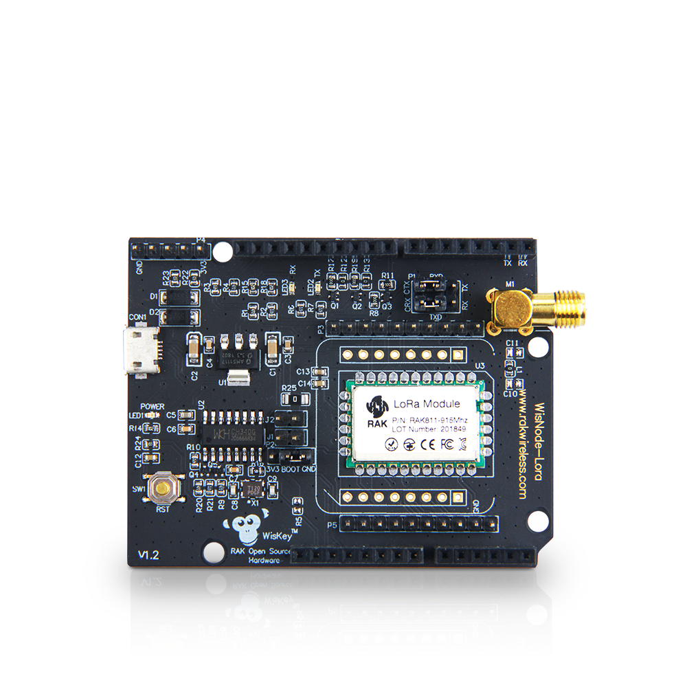 WisDuino Evaluation Board | RAK811