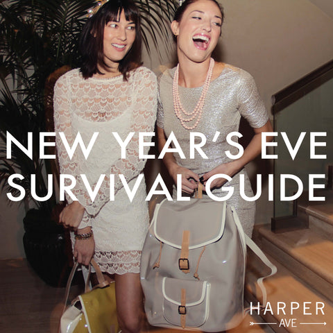 New Year's Eve 2013 - Luxury Designer Patent/Leather Backpacks from Harper Ave