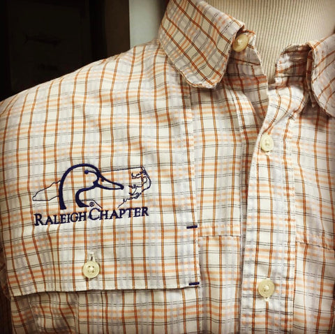 Raleigh NC Ducks Unlimited Chapter Custom Shirts