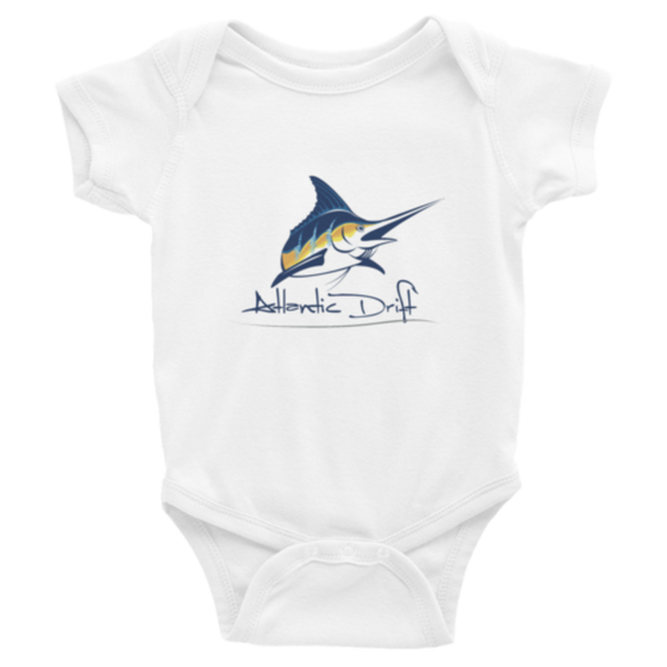 Original Logo Onsie - White - Atlantic Drift