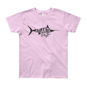 Kids Old Blue Tee - Pink - Atlantic Drift