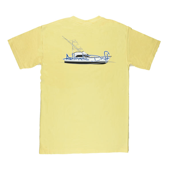 Sportfisher Pocket Tee - Atlantic Drift