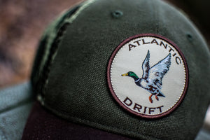 Old School Mallard Mesh Back - Atlantic Drift