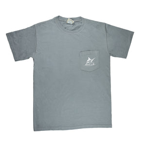 Georgia Pocket Tee - S/S - Granite - Atlantic Drift