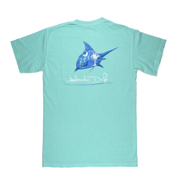 South Carolina Pocket Tee - S/S - Mint - Atlantic Drift
