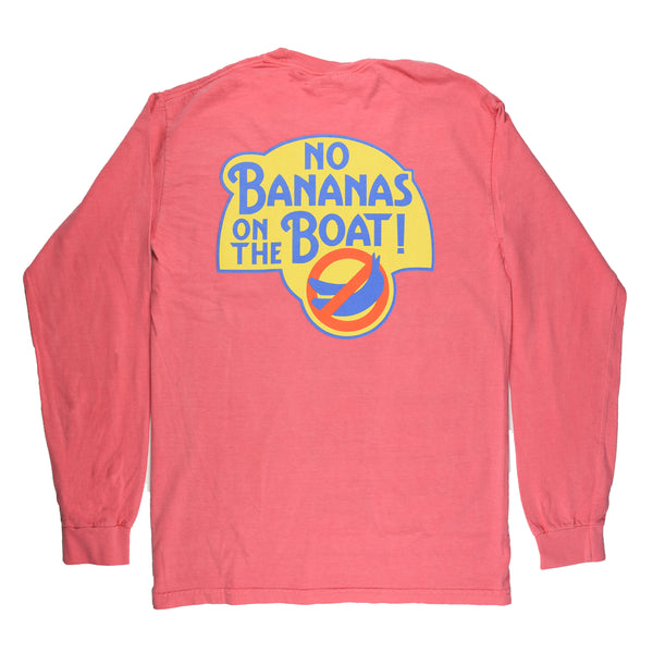 No Bananas Tee - L/S - Watermelon - Atlantic Drift