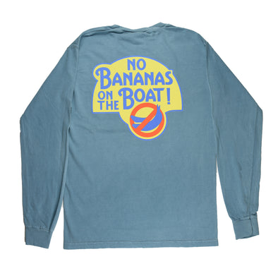 No Bananas Pocket Tee  - Ice Blue - Atlantic Drift
