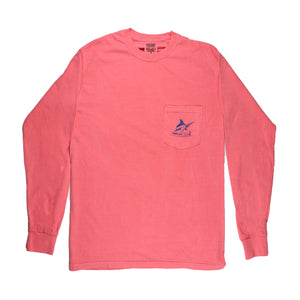 Reef Donkey Tee - L/S - Watermelon - Atlantic Drift