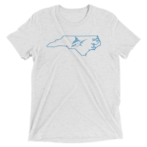 Chapel Hill Vintage Tee - Athletic Fit - Atlantic Drift