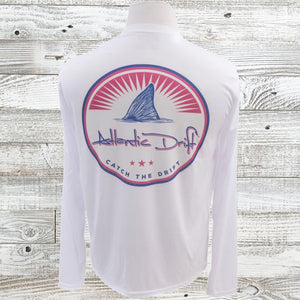 Red Fish Americana performance shirt - Atlantic Drift