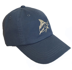 Coastal Blue Twill AD Hat - Atlantic Drift