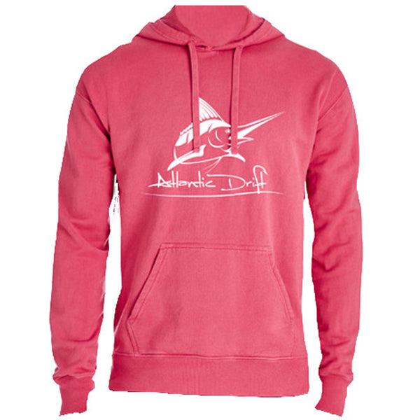 Original Logo Crimson Hoodie - Atlantic Drift