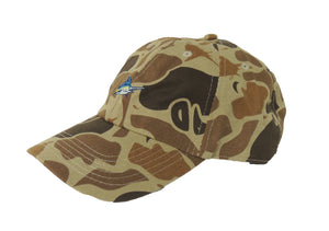 Mini Marlin Camo Hat - LoPro - Atlantic Drift