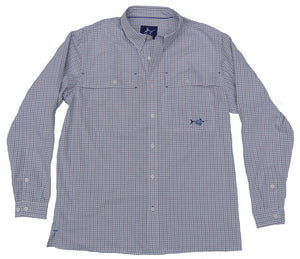 Beaufort Button Down - Marina - Atlantic Drift