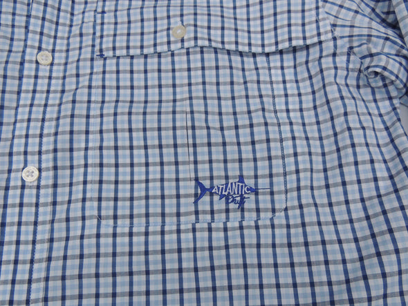 Beaufort Button Down - Breaker Blue - Atlantic Drift