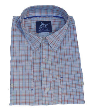 Beaufort Button Down - Sunrise - Atlantic Drift