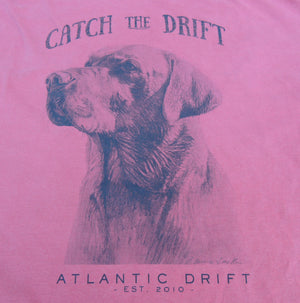 Man's Best Friend Tee - L/S Crimson - Atlantic Drift