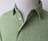 Pawleys Performance Polo Shirt - Heather Green - Atlantic Drift