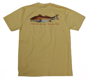 Catch & Release Pocket Tee - Banana - Atlantic Drift