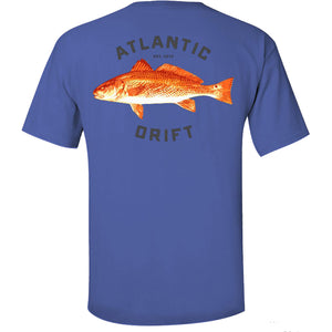 Red Drum Pocket Tee - Atlantic Drift