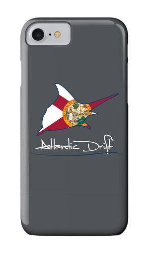 Marlin Florida Flag Logo Case - Atlantic Drift