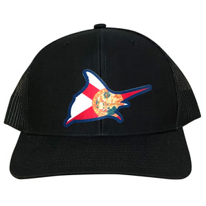 Fl Flag Trucker Hat - Atlantic Drift