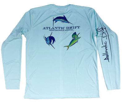 Offshore Perfromance Shirt - Seafoam - Atlantic Drift