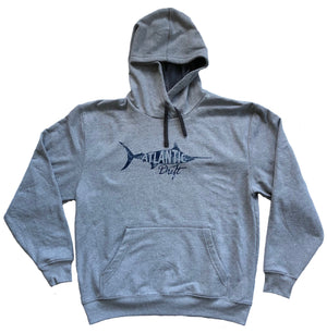 Old Blue Recover Hoodie - Classic Gray - Atlantic Drift