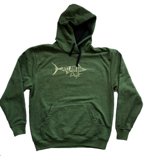 Old Blue Recover Hoodie - Hunter - Atlantic Drift