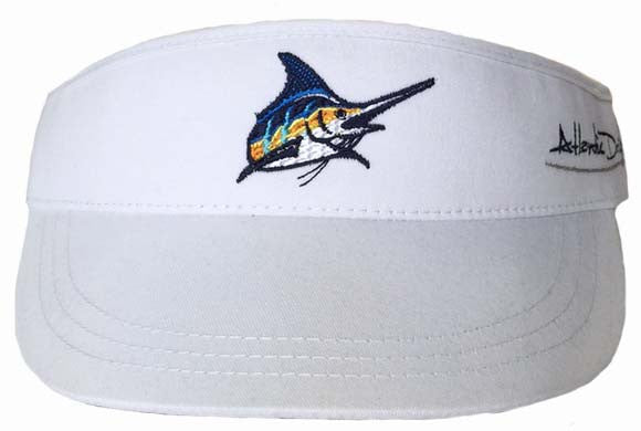 Original White Tour Visor - Atlantic Drift